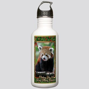 Red Panda Christmas Ca Stainless Water Bottle 1.0L